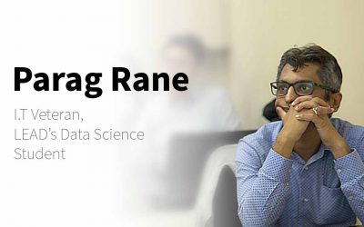 """Parag: """"It's Possible For Anyone To Launch a Data Science Career"""" – LEAD Stories"""